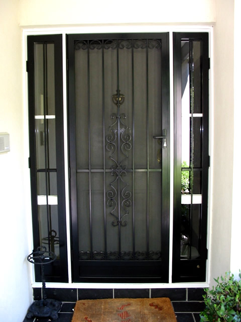 Security Porch Enclosure