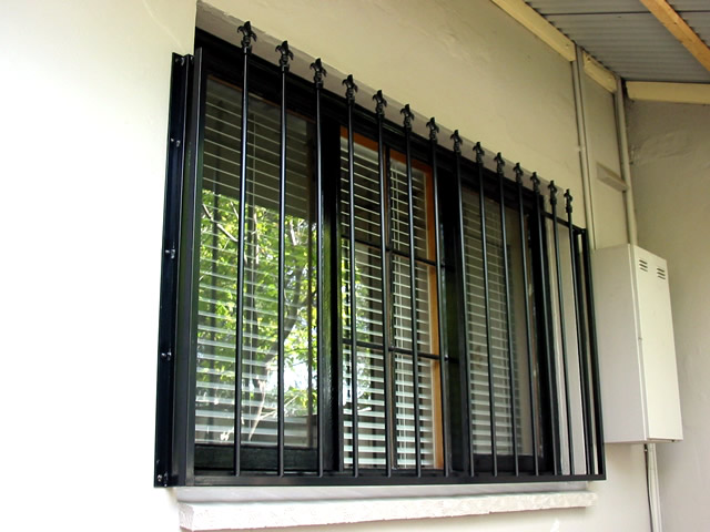 Security Window Grille GW08
