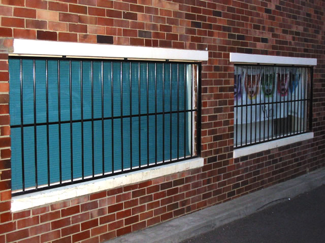 Security Window Grille GW14