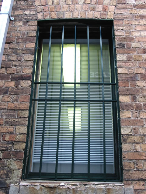 Security Window Grille GW16