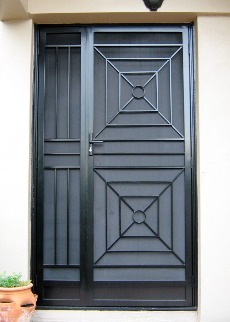Art Deco Door and side panel
