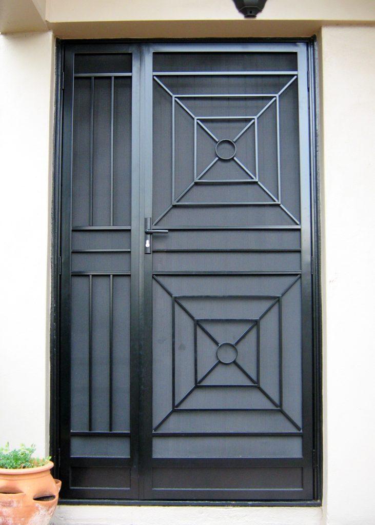 Art Deco Door and side panel