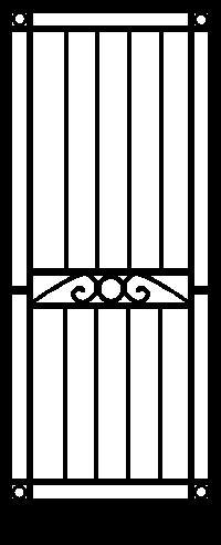 Security Door Style Hampden