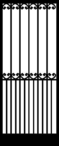 Security Door Style Canterbury