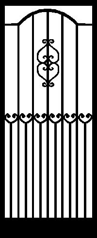 Security Door Style Florence