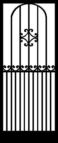 Security Door Style Picot