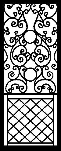 Security Door Style Custom 5