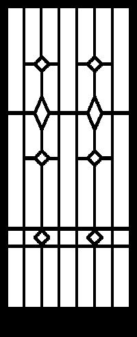 Security Door Style Custom 9