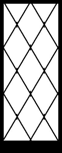 Security Door Style Diamond