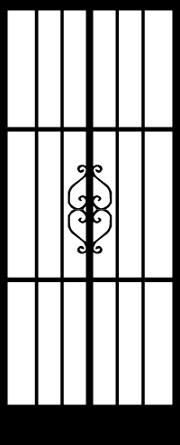 Security Door Style Georgian