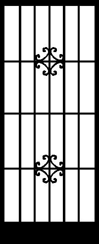 Security Door Style Hudson
