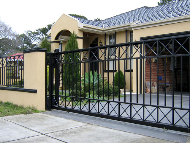Wrought Iron Amp Automatic Security Gates Melbourne