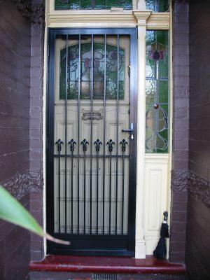 Security Door Style Victorian