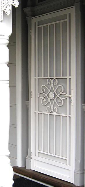 Security Door Style Tuscan