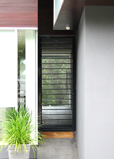 Security Door Style Contemporary