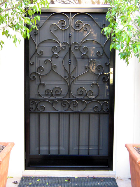Security Door Style Custom 10