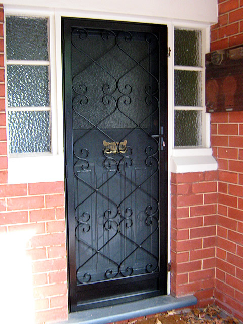 Security Door Style Custom 1