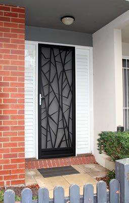 Security Door Style Wedge